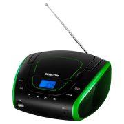 Sencor SPT1600BGN Hordozható FM rádió CD lejátszóval
