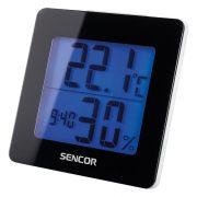 Sencor SWS1500B Időjárás állomás ébresztővel - fekete