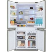 Sharp SJFP810VST Alulfagyasztós 4 ajtós hűtőszekrény
