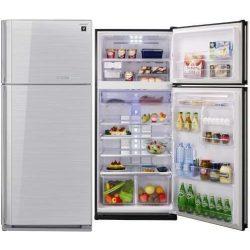 Sharp SJGC700VSL Felülfagyasztós hűtőszekrény