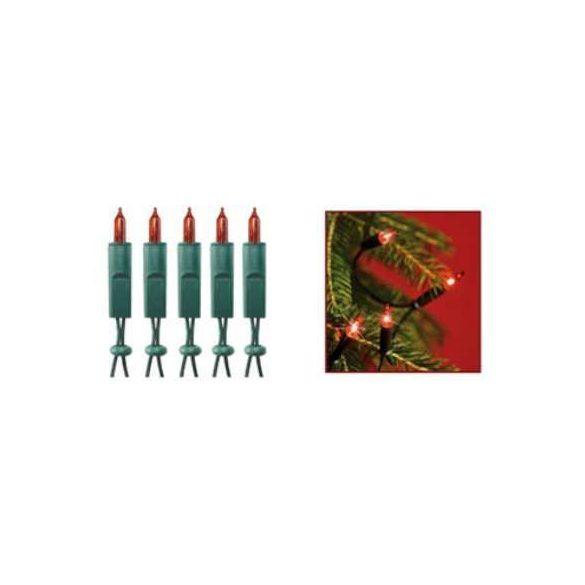 Somogyi KI100/RD beltéri fényfüzér, piros