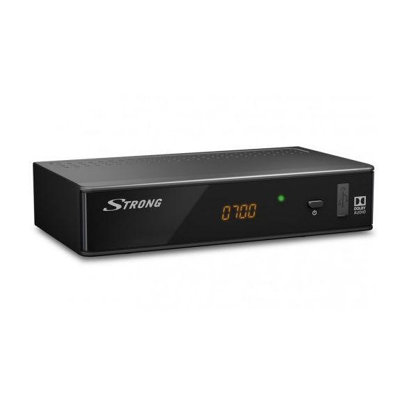 Strong SRT 8541 DVB-T/T2 H.265 HEVC SET-TOP-BOX digitális földfelszíni műsor vevő beltéri egység