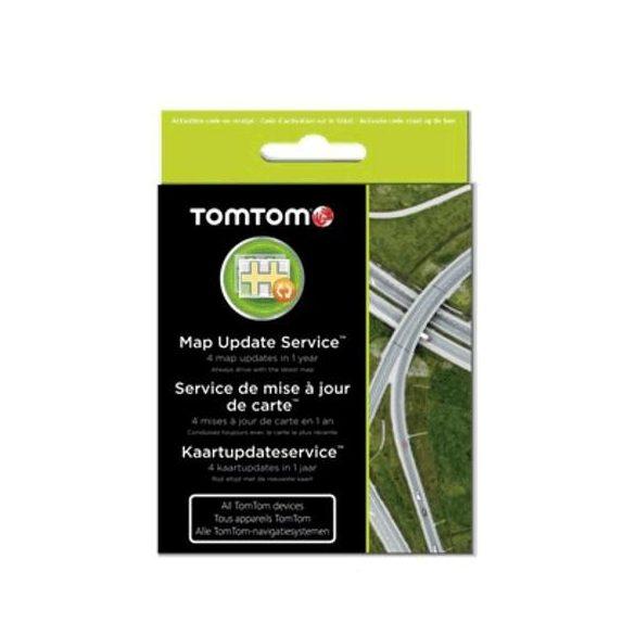 TomTom térképfrissítő kártya - 1 év 9SDA.001.01