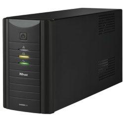 Trust 17680 Oxxtron 1000VA UPS szünetmentes táp-fekete
