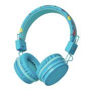 Trust Comi Bluetooth vezeték nélküli fejhallgató - kék (23128)