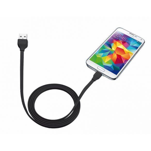 Trust 20135 Flat Micro-USB kábel 1m fekete