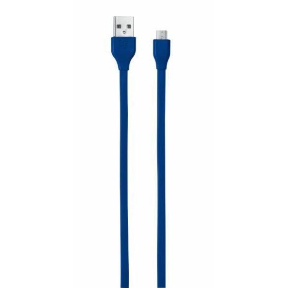 Trust 20136 Flat Micro-USB kábel 1m kék