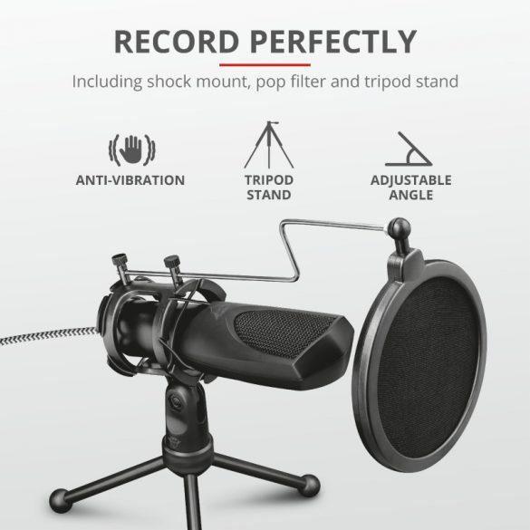 Trust GXT 232 Mantis Streaming Mikrofon (22656)