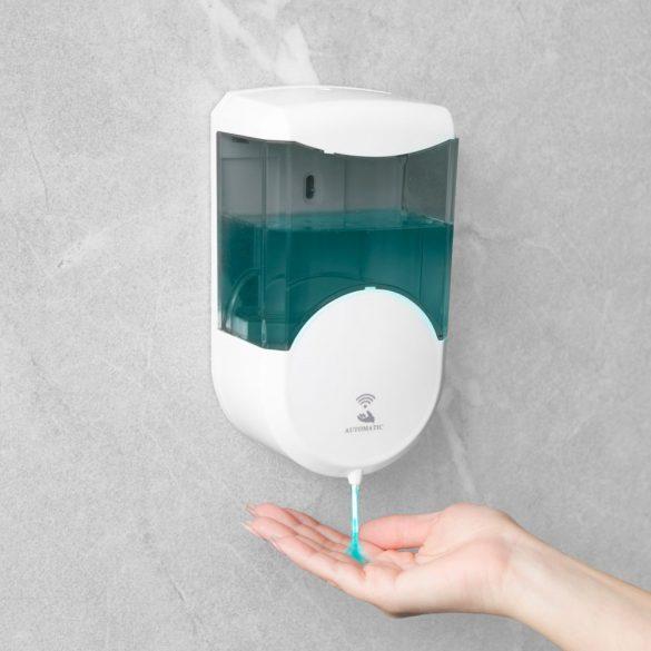 Vog&Arths elemes, szenzoros fali szappanadagoló 600ml - füst színű (51120B)