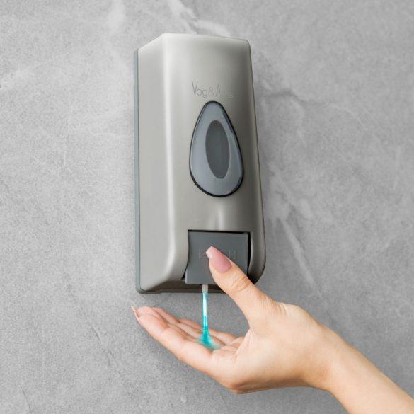 Vog&Arths manuális fali szappanadagoló 350 ml - ezüst (51119B)