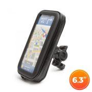 """Wheel Zone kerékpáros telefontartó táska érintőfelülettel 6.3""""-ig (54994B)"""