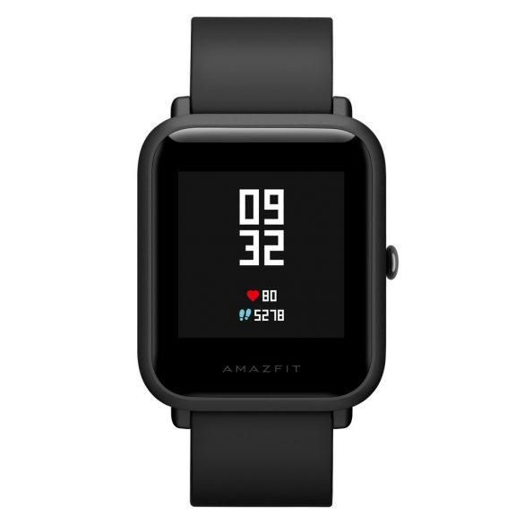 Xiaomi Amazfit Bip GPS-es fitness okosóra - fekete