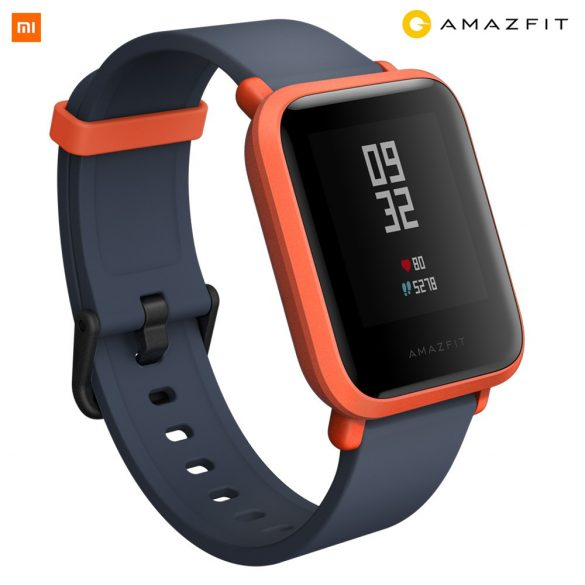 Xiaomi Amazfit Bip GPS-es fitness okosóra - narancs színű