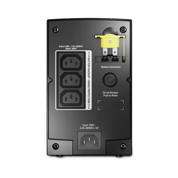 APC BX500-CI 500VA szünetmentes tápegység