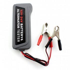 Akkumulátor töltő, teszter