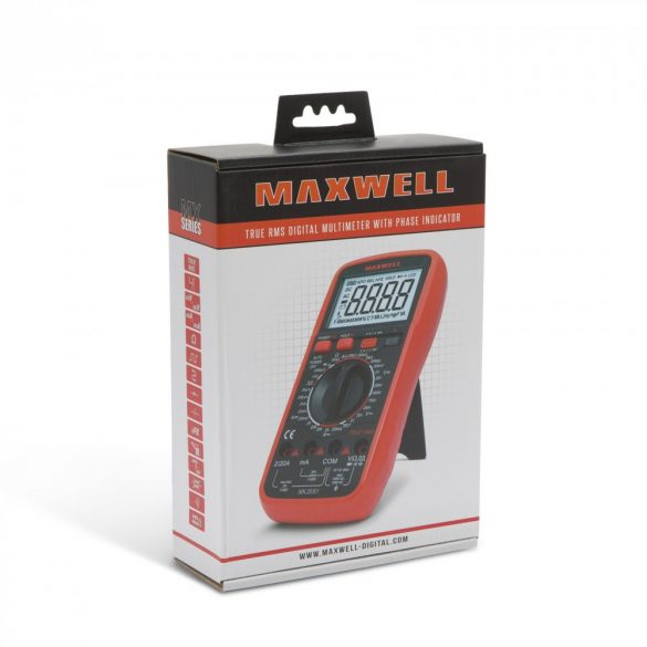 Maxwell digitális multiméter (25301)