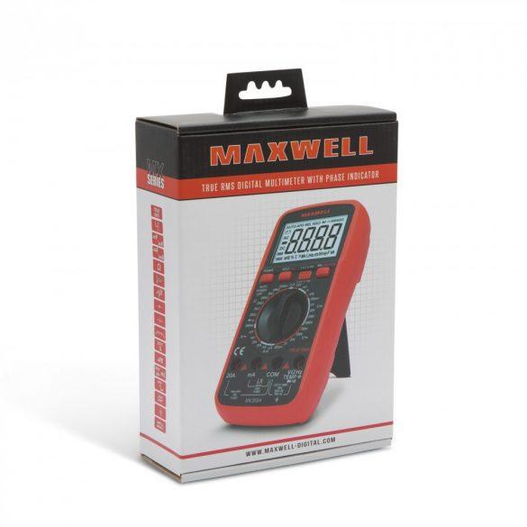 Maxwell digitális multiméter (25304)