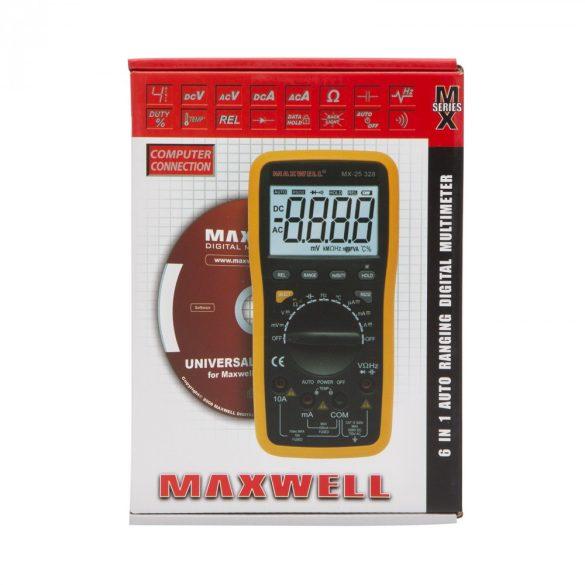 Maxwell digitális multiméter 5az1-ben (25328)