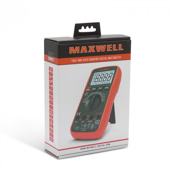 Maxwell digitális multiméter (25303)