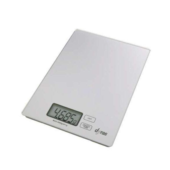 Dyras DSFC-670 ultravékony digitális konyhai mérleg