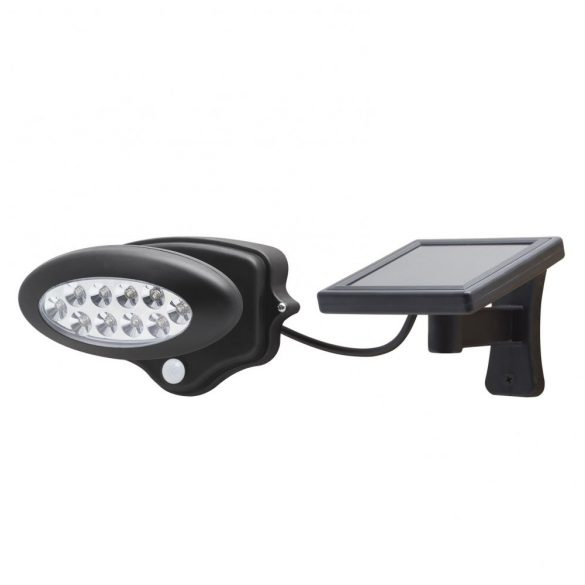 LED-es szolár kültéri lámpa - mozgás és fényszenzorral - (55269)