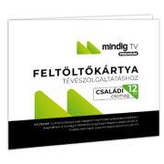 MinDig TV Extra Családi műsorcsomag (12 hónap) feltöltőkártya