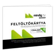 MinDig TV Extra Családi műsorcsomag (6 hónap) feltöltőkártya