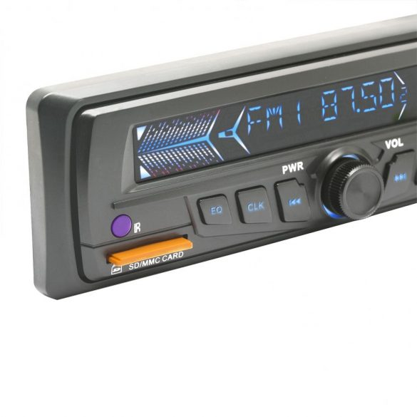 MNC MP3-as autórádió USB/SD/MMC kártyaolvasóval (39710GY)