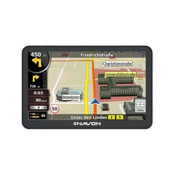 NAVON N670 Plus FEU navigáció + iGO8 teljes Európa (40 ország)