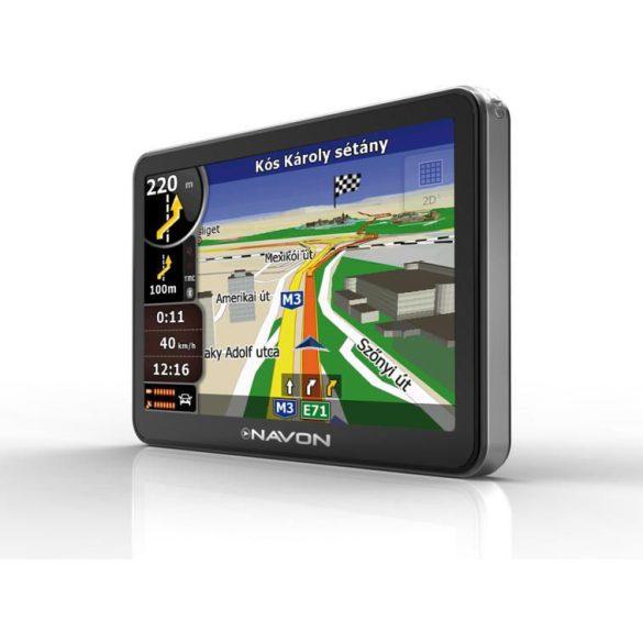 NAVON N670 Plus navigáció + iGO8 Magyarország térkép