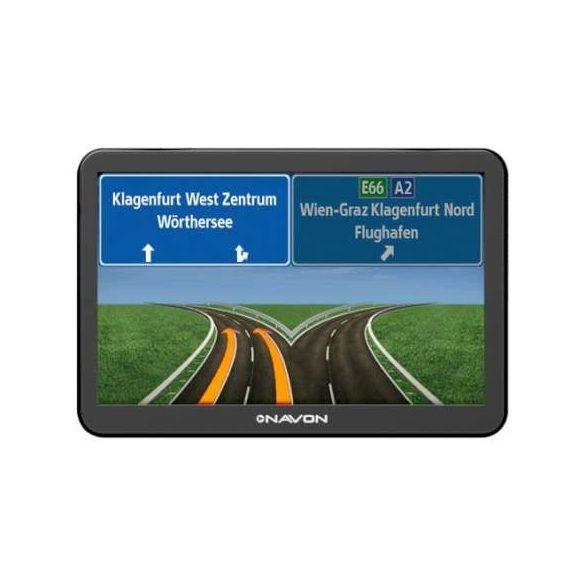 NAVON N760 Plus navigáció + iGO8 Teljes-Európa térkép (45 ország)