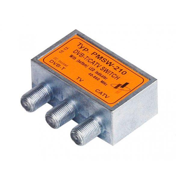 PMSW-210 DVB-T / KábelTV kapcsoló