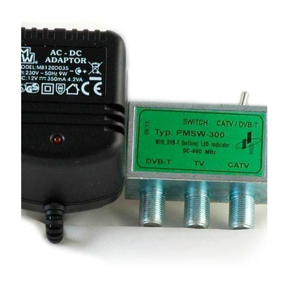 PMSW-300 DVB-T / KábelTV kapcsoló