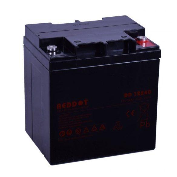 RedDot DD12240 12V 24Ah zselés akkumulátor