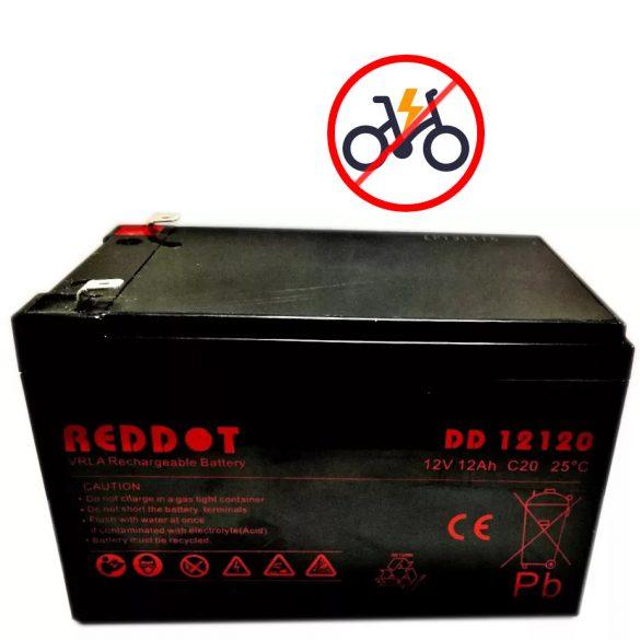 RedDot DD12120 12V 12Ah zselés akkumulátor