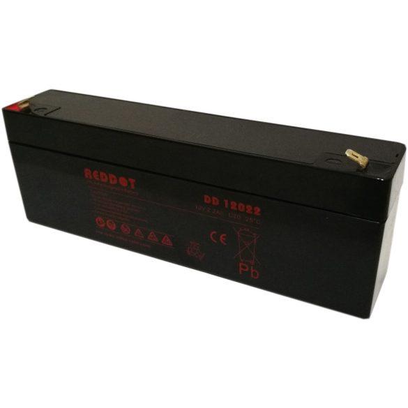 RedDot DD12022L 12V 2.2Ah zselés akkumulátor
