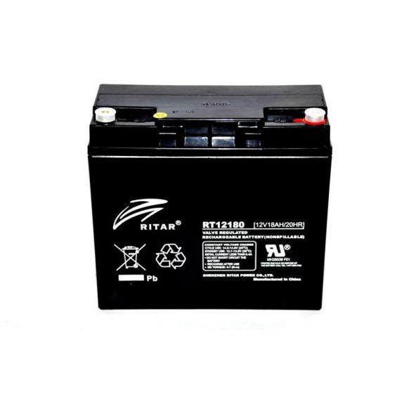 Ritar RT12180H 12V 18Ah zárt ólomzselés akkumulátor