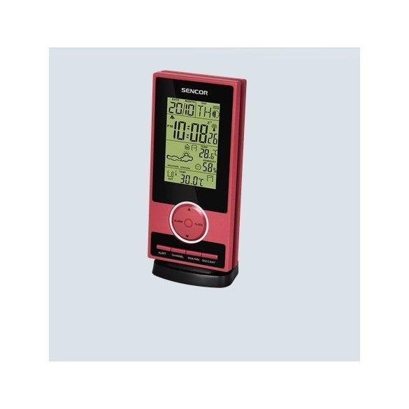 Sencor SWS 30 Időjárásállomás - piros