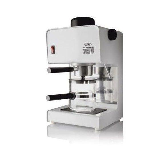 Szarvasi SZV-618 presszó kávéfőző, fehér