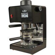 Szarvasi SZV-618 presszó kávéfőző, fekete