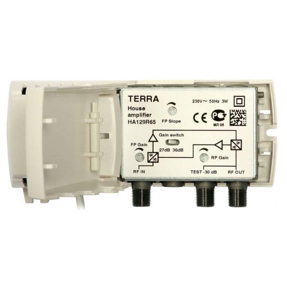 Terra HA129R65 CATV házerősítő aktív vissziránnyal