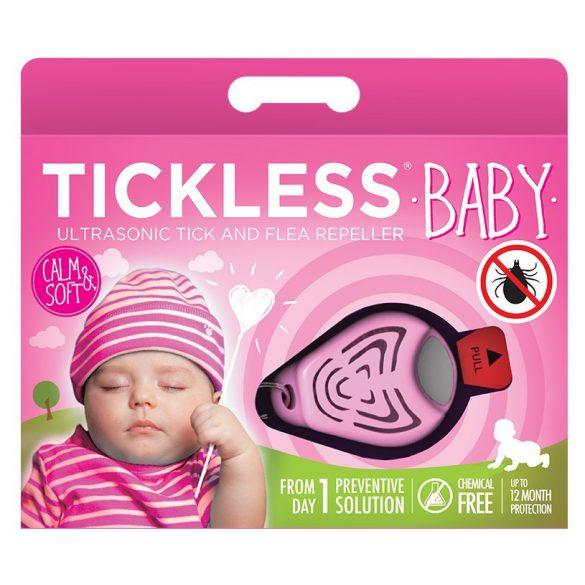 TickLess Baby ultrahangos kullancsriasztó PRO10-007 - pink