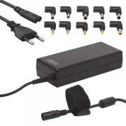 DeLight Univerzális laptop-notebook töltő adapter tápkábellel (55360)