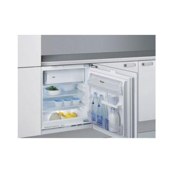 Whirlpool ARG 913/A+ pult alá építhető normál hűtőszekrény fagyasztóval