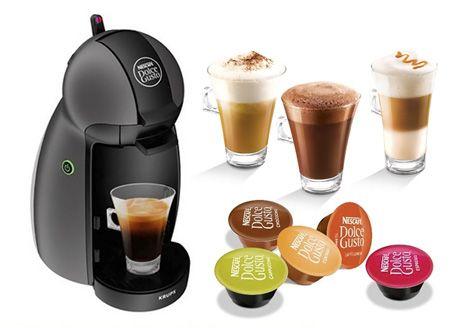 Krups KP100B31 Piccolo kávéfőző (antracit)