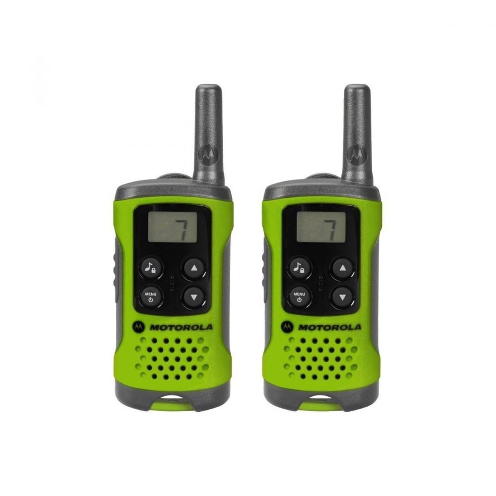 Motorola TLKR T41 walkie talkie - zöld